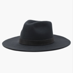 River Hard Brim Hat- Dark Grey