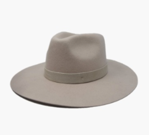 River Hard Brim Hat- Tan