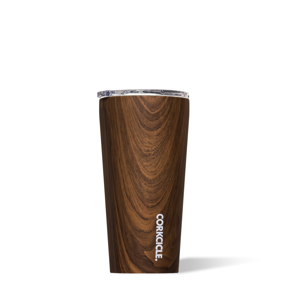 Tumbler- 16oz Walnut Wood