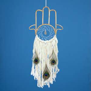 Dream Catcher: Hamsa Geode