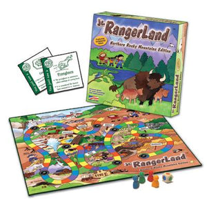 Northern Rocky Mountains Edition National Park Board Game