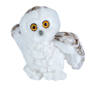 Snowy Owl Stuffed Animal - 8""