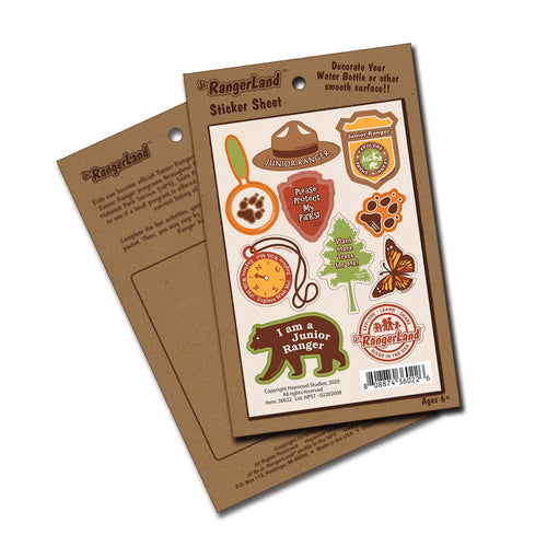 Junior Ranger Stickers