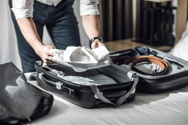 lying your things out help you decide what menswear to pack for summer travel