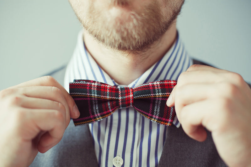 Tips from Ed's Fine Imports on how tot wear a bowtie