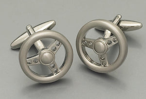 Cufflinks - Steering Wheel