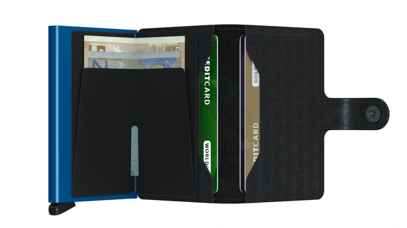 Secrid - Mini Wallet Optical Black
