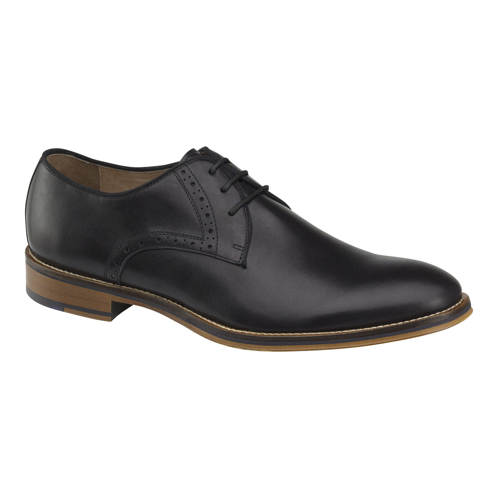 Johnston and Murphy Shoes -Men's Conard Plain-Toe Dress Shoes Black 20-2235