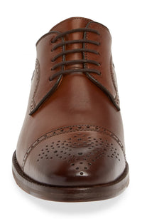 Johnston & Murphy - Men's Shoes Halford Cap Toe Tan 20-4422