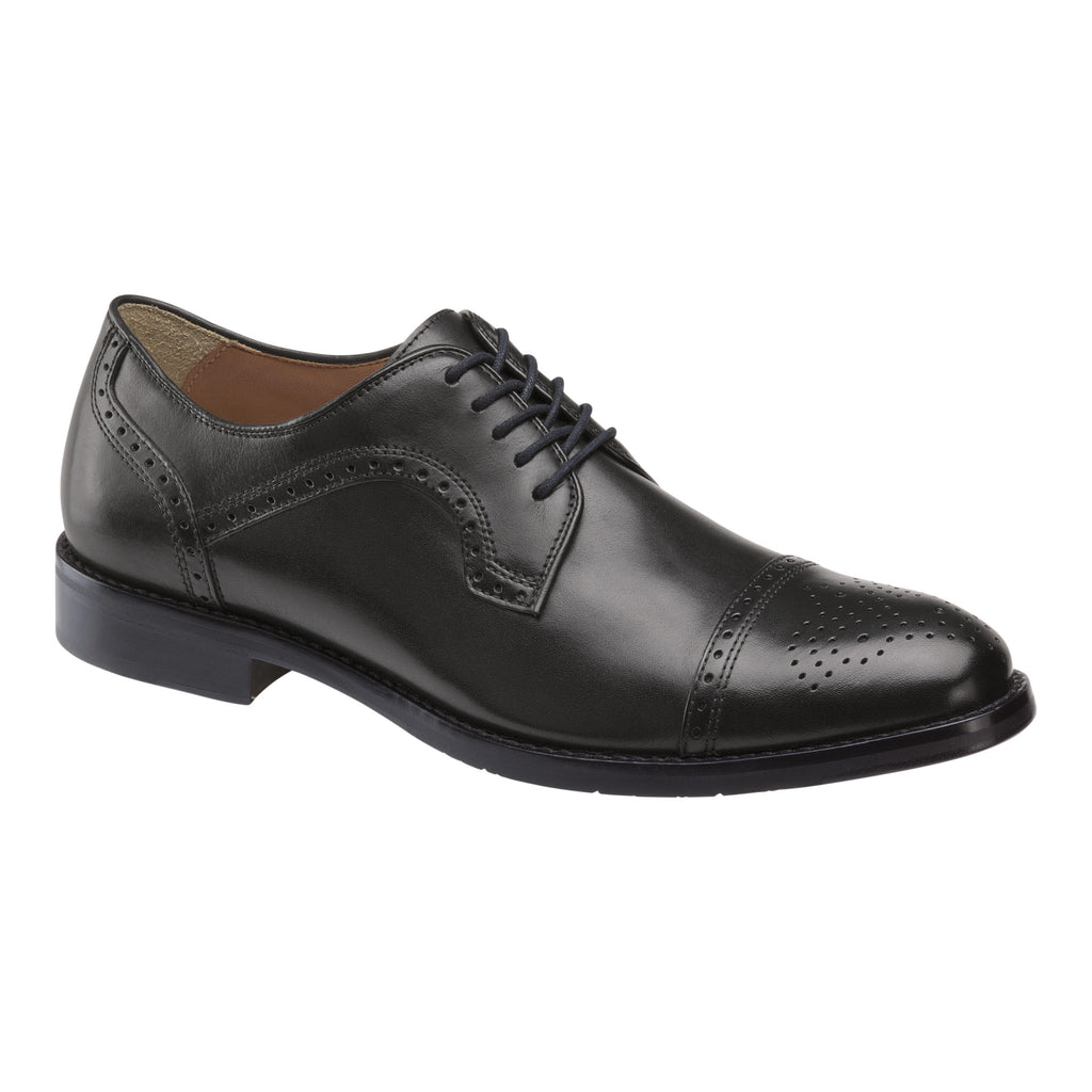 Johnston & Murphy - Men's Shoes Men's Halford Cap Toe Oxford 20-4425