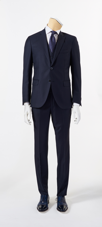 Calvaresi Suit - 3 Piece Navy