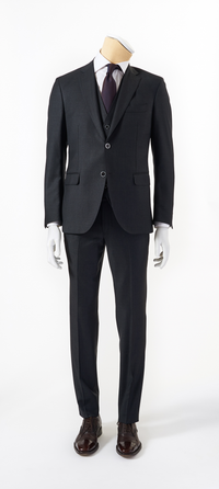 Calvaresi Suit - 3 Piece Charcoal