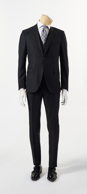 Calvaresi Suit - 3 Piece Black