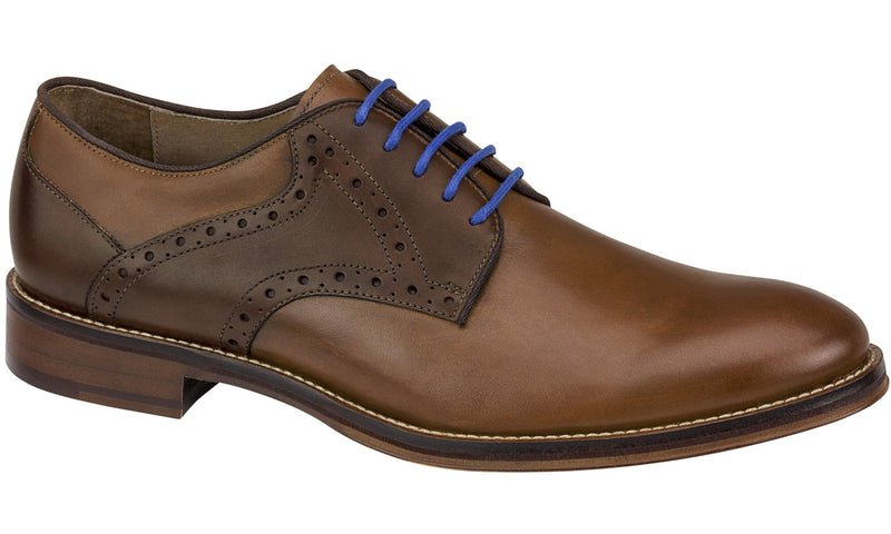 Johnston and Murphy Shoes - Tan/Brown Saddle