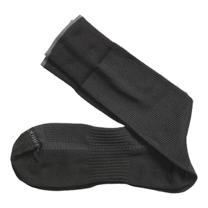 Johnston & Murphy Socks - Pin Dot Black