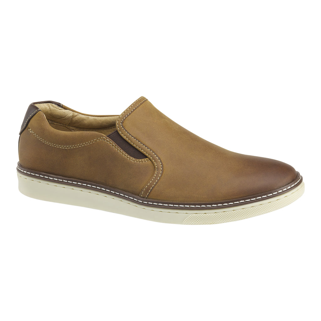 Johnston & Murphy Casual Shoes - McGuffey Slip-On Tan 25-1393