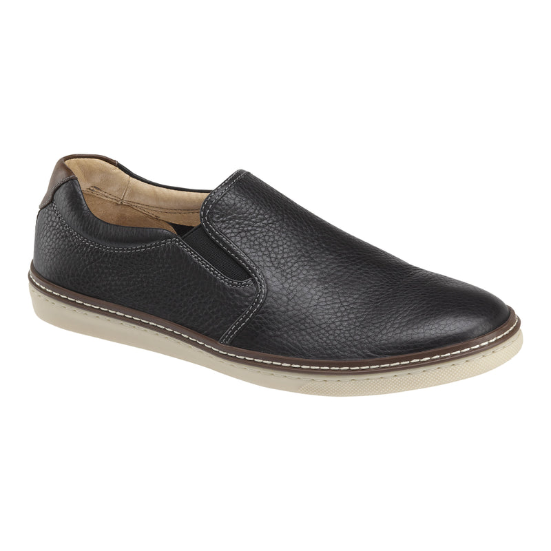 Johnston & Murphy Casual Shoes - MCGUFFEY SLIP-ON Black 25-2645