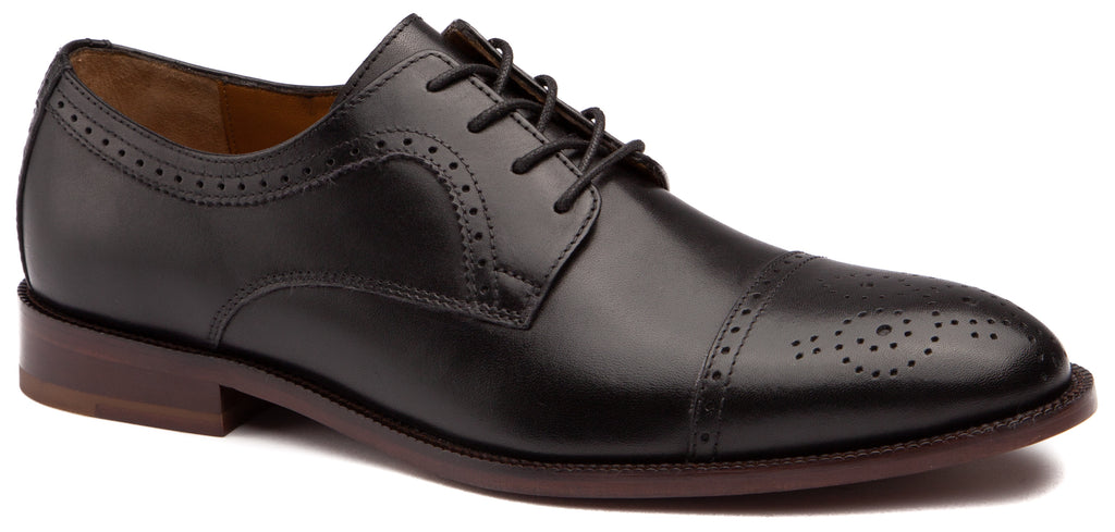 Johnston & Murphy - Men's Shoes Alredge Cap Toe Black 27-2301