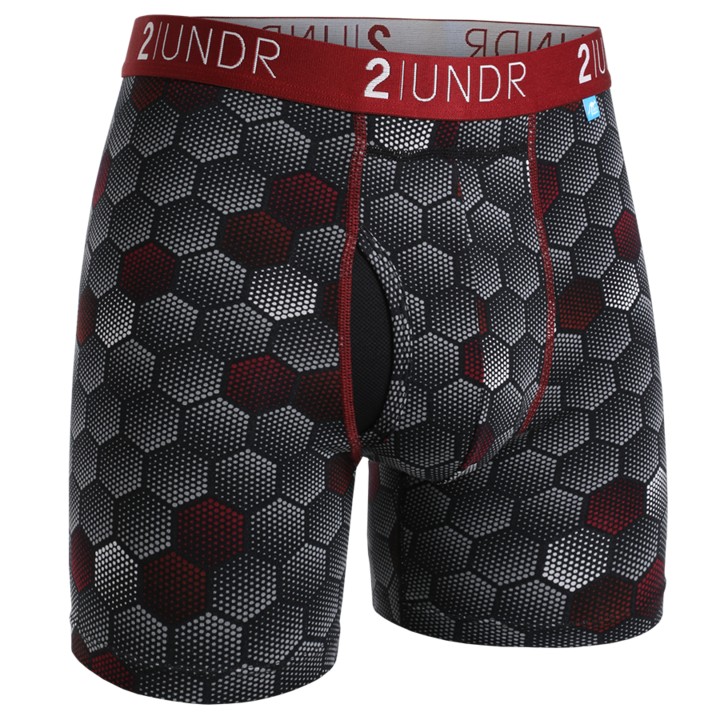 2UNDR Mens Luxury Underwear Swing Shift Boxer Briefs Jupitor