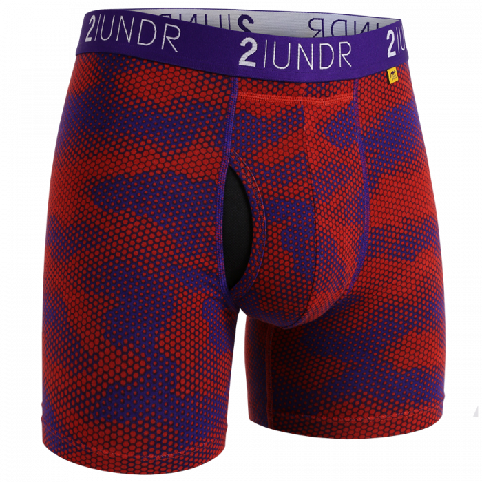 2UNDR Mens Luxury Underwear Swing Shift Mens Boxer Briefs Lava