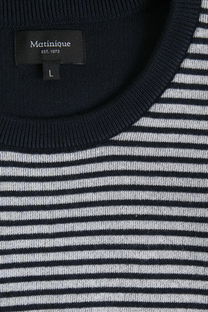 Matinique Sweater - Akios Jacquard Knit