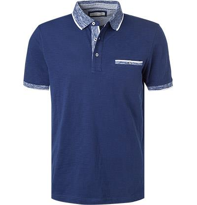 Bugatti - Polo Shirt - Pock - Blue