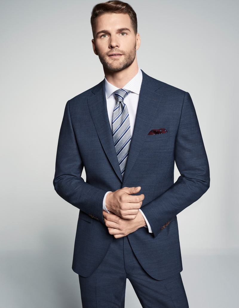 Jack Victor Suit - Seasonal Blue