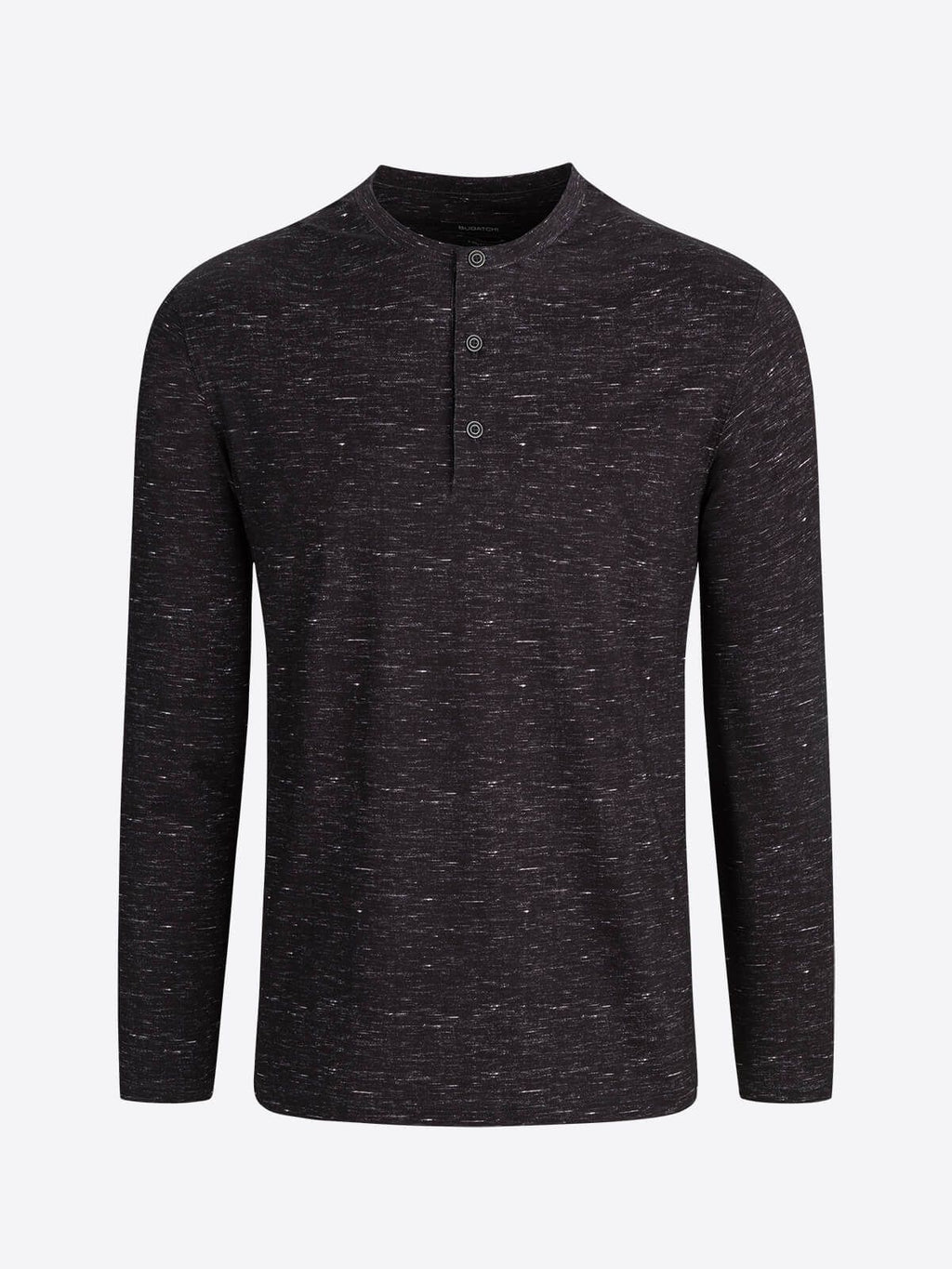 Bugatchi - OOOCOTTON - Long sleeve performance Henley