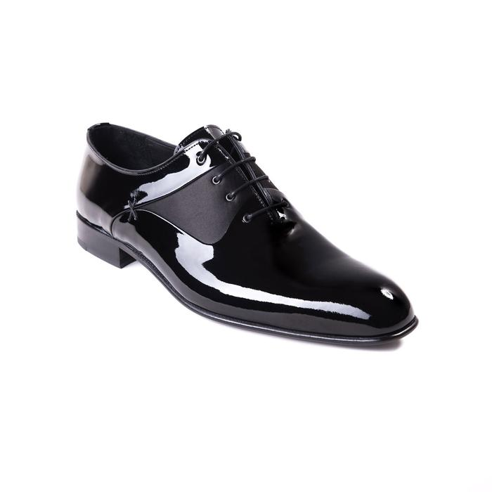 Jared Lang Shoes -Black Patent Dress Shoes 51131-BK