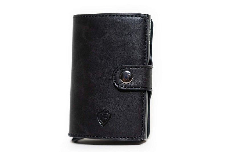 Card Shield - RFID Mini Wallet Black