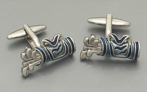 Cufflinks - Golf Clubs in Bag