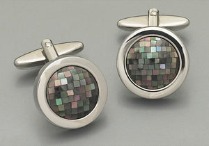 Cufflinks -7440 Mother of Pearl