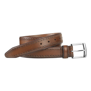 Johnston & Murphy Belt - Tan