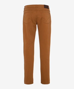 Brax Luxury Men's Casual Pants BNWT Cooper Fancy - Caramel Jeans