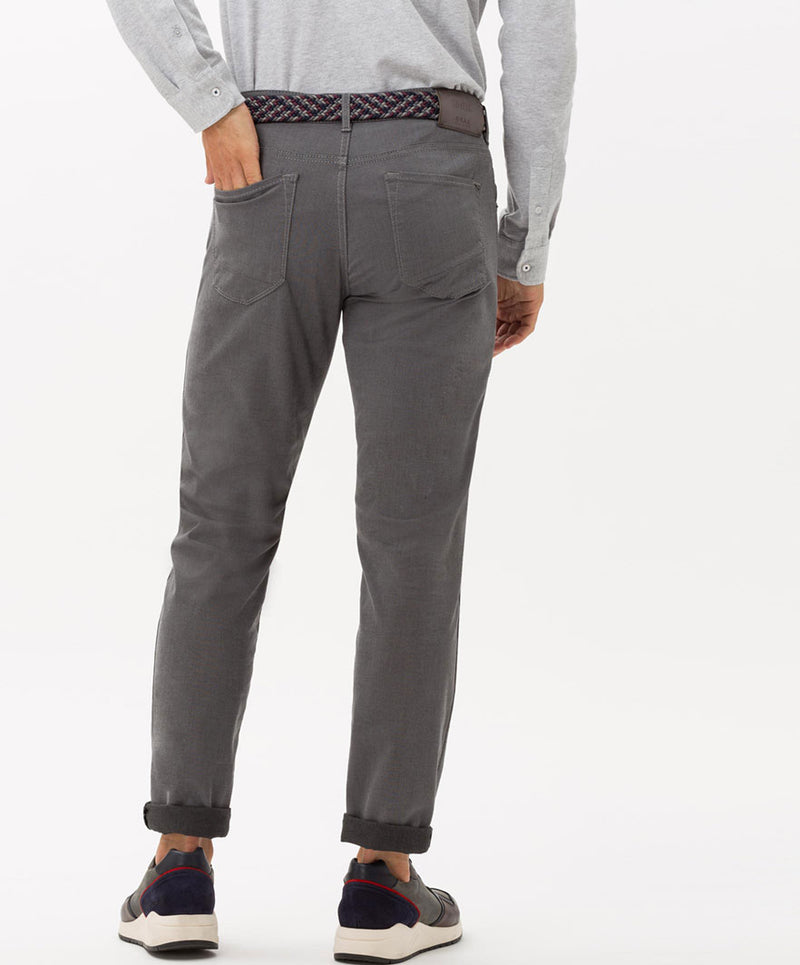 Brax Luxury Men's Casual Pants BNWT Chuck, Graphite Jeans
