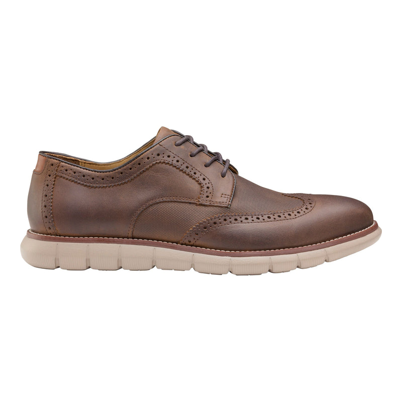 Johnston & Murphy - Men's Shoes Holden Embossed Wingtip - 20-4920