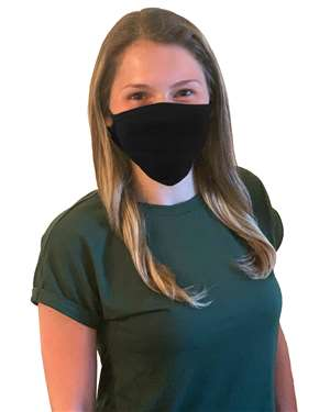 M&O - 100% Cotton Antimicrobial Triple Layer Adjustable Masks - 10 PACK