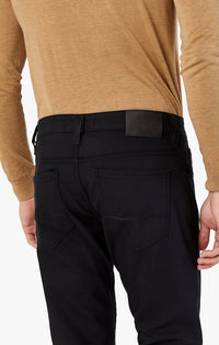 34 Heritage - Courage straight leg in Black Performance Pants