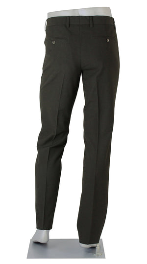 Alberto Men's Pants Ceramica Pipe Slim Fit Black Mens Pant BNWT
