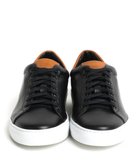 Good Man Brand - LEGEND LO TOP SNEAKER - BLACK / VACHETTA