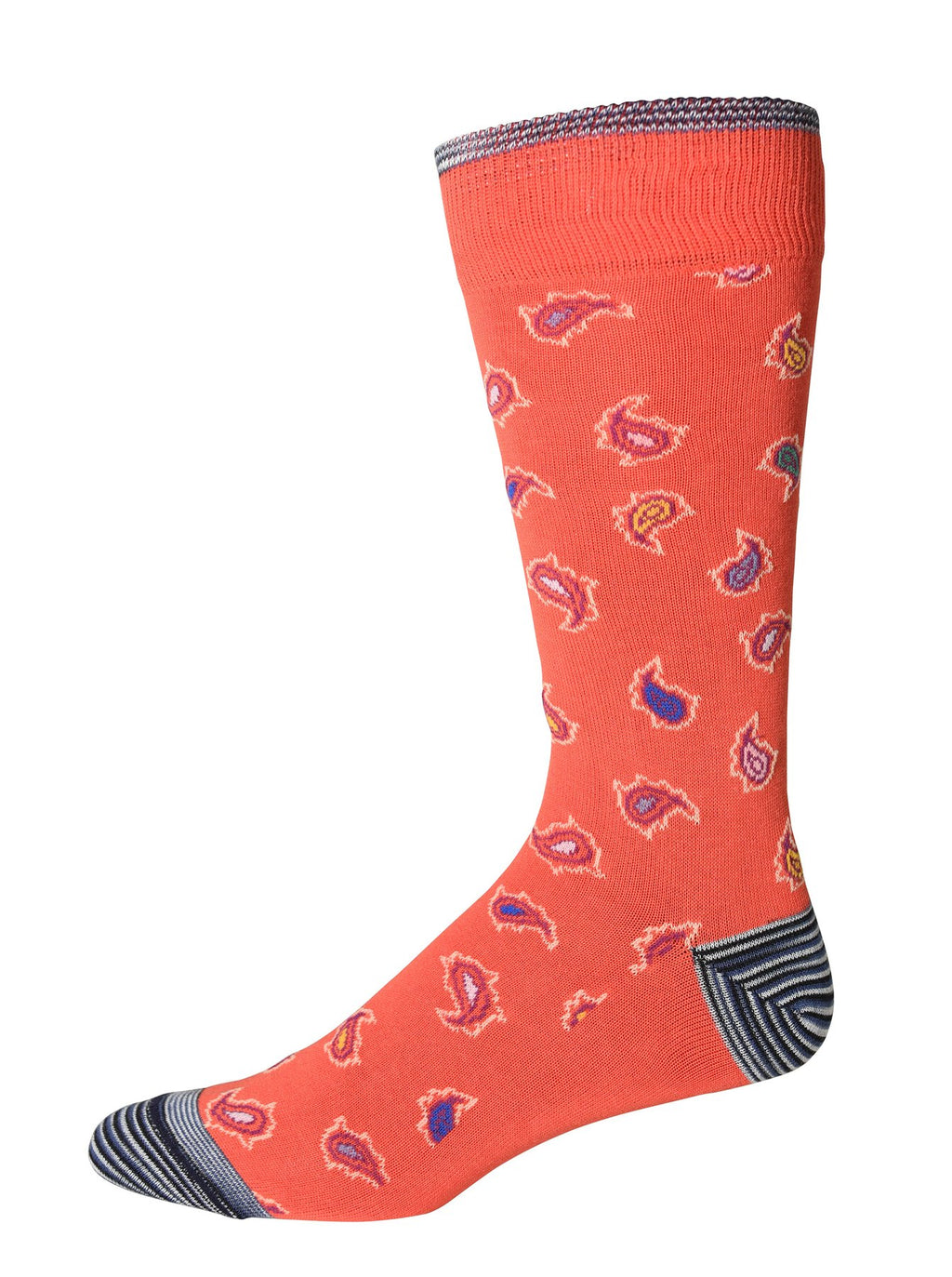 Robert Graham Socks - Camber Red