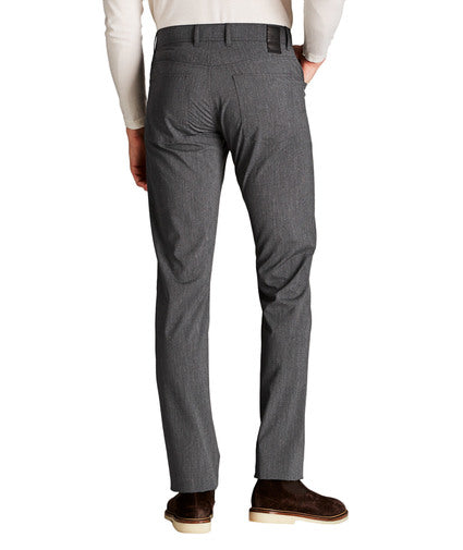 Alberto - Ceramica Pipe Slim Fit Light Grey