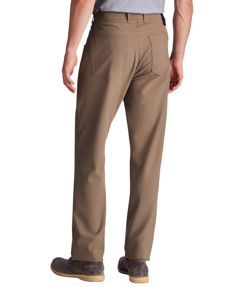 Alberto - Ceramica Pipe Slim Fit Tan
