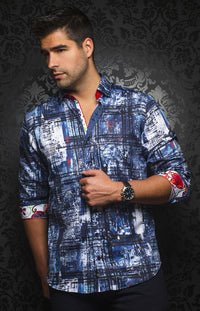 Au Noir - Casual Shirt - Cruz Navy