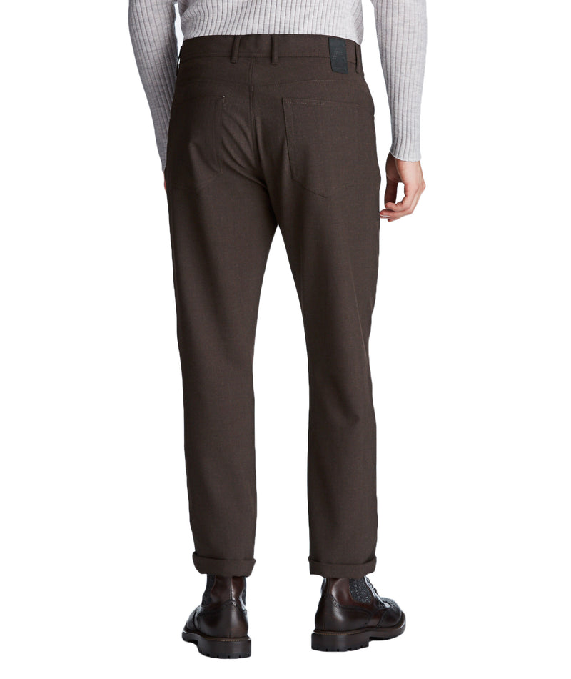 Copy of Alberto - Ceramica Pipe Slim Fit Brown