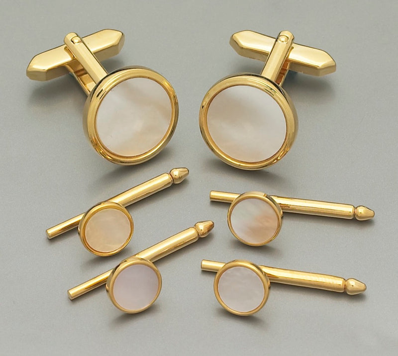 Formal Set - Mother of Pearl Gold