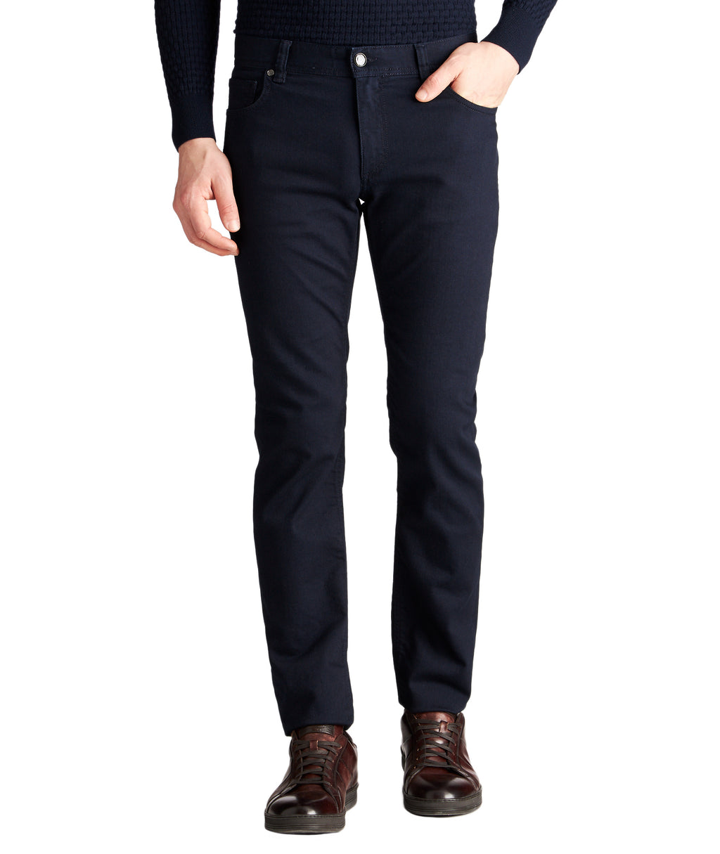 Alberto Jeans - Pipe Slim Fit Blue