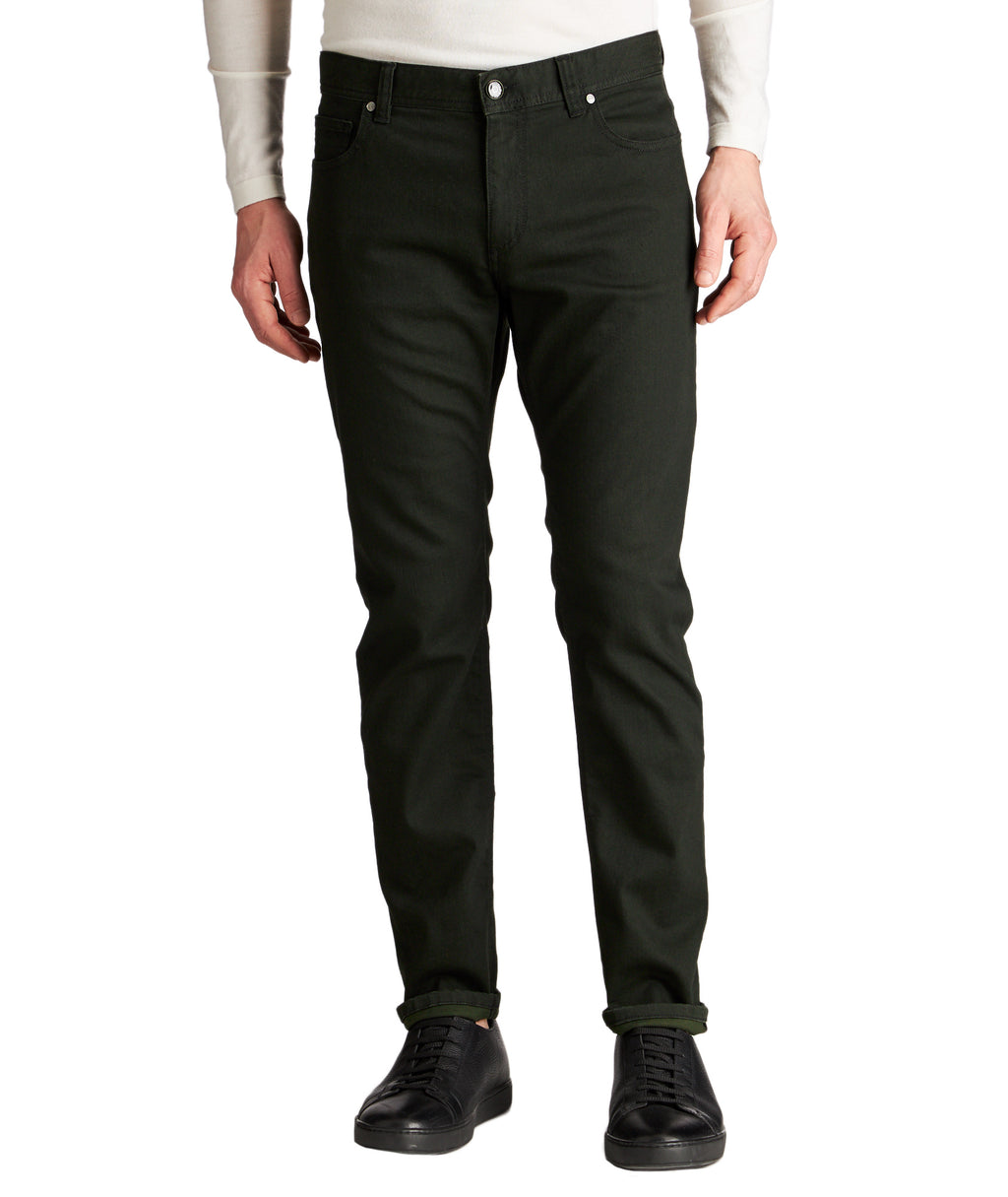 Alberto Jeans - Pipe Slim Fit Green