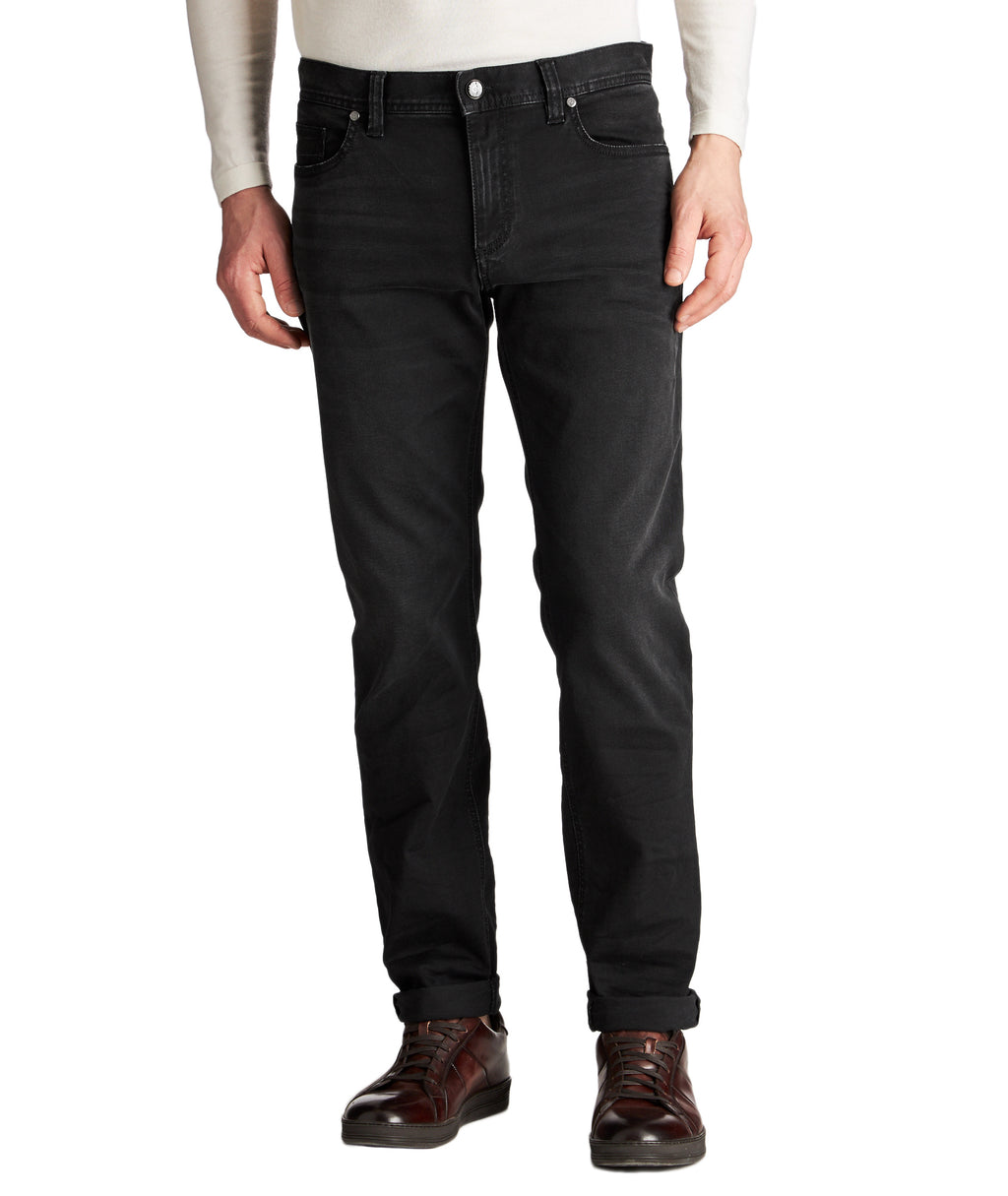 Alberto Jeans - Pipe Slim Fit Black