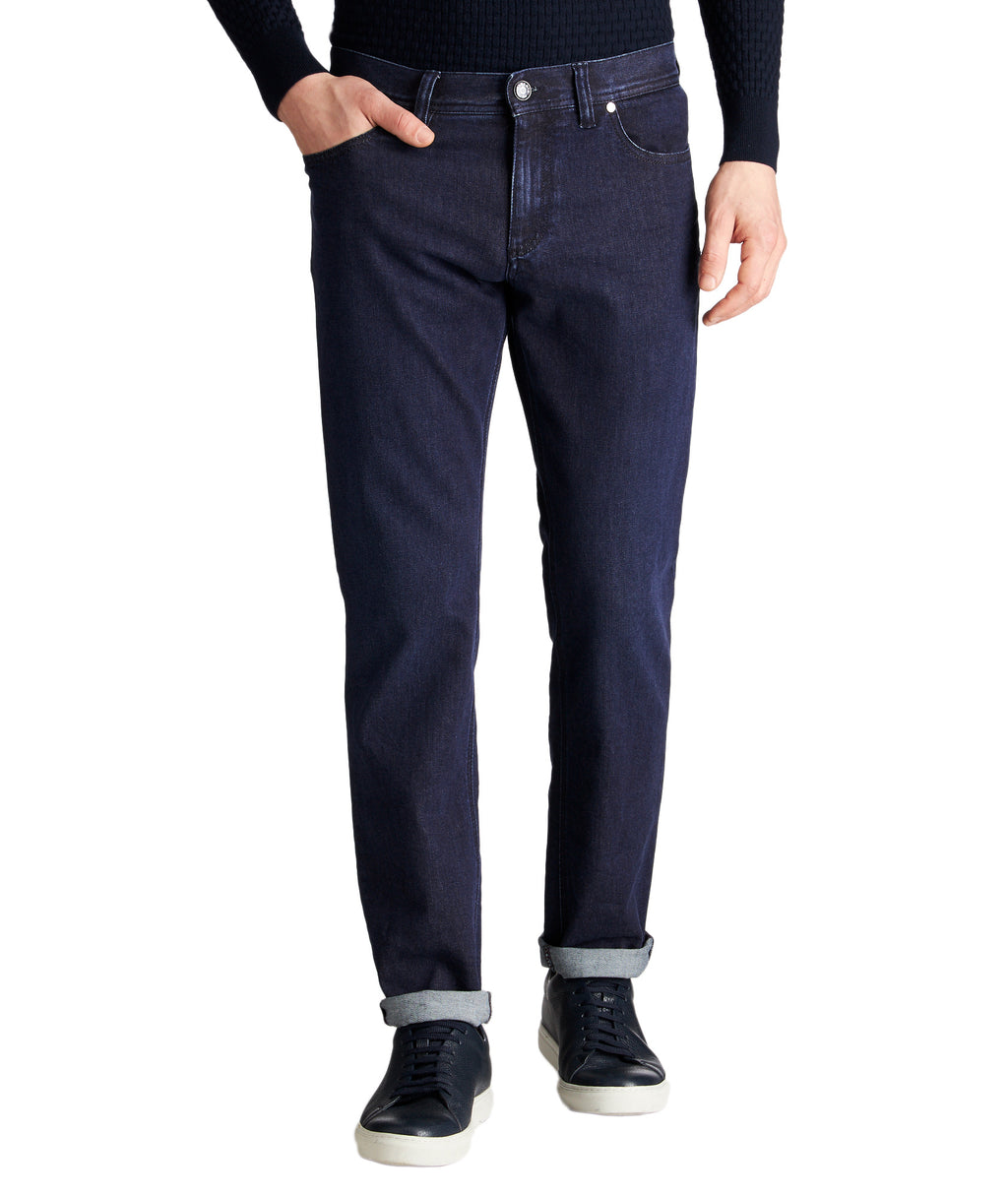 Alberto Jeans - Pipe Slim Fit Indigo